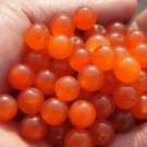 Red jade, a single diameter of about 10 mm (a pack of 40)