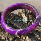 The purple the longan agate bracelet, diameter 58 mm, 114 mm bandwidth, 7 mm thick