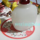 Imitation of ancient white jade snuff bottle. Hand pieces, ornamental items, collectibles. 70x60mm