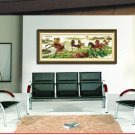 Madaochenggong Figure, cross-stitch finished painting the living room. .165 X60CM