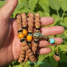 Tibetan Buddhist prayer beads, King Kong Pu Tizi, a single bead 8 mm, Yoga Mala Meditation