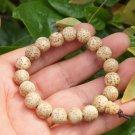 Small natural water hyacinth Tizi bracelet. Black and white Yuan Beads, 9 mm Mara meditation, yoga