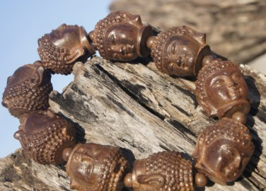 Red sandalwood beads Manual sculpture strange bracelets