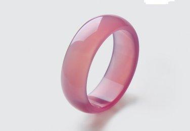 Lotus red agate charm bracelet. Women love