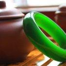 Spinach green jade bracelet (expand) beautiful women's favorite