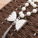 Alloy fine imitation pearl necklace. The choice of beautiful lady