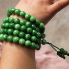 Natural jade, 8mm beads, meditation, yoga beads. Necklace bracelet.