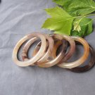 Handmade natural multicolored jade garden bracelet beautiful ladies first choice