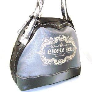 Nice 100% Authentic Nicole Lee Gray Handbag