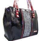 Nice 100% Authentic Nicole Lee Red Black Handbag