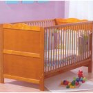 Kirsty Cot Bed Lisa Country hardwood without matress