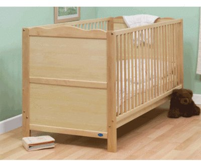 Kirsty Cot Bed Lisa Natural without mattress