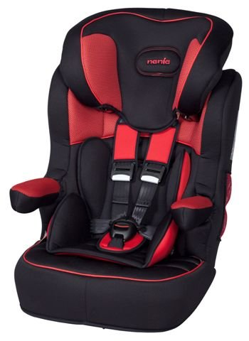 Nania IMAX SP Luxe High Back Car Seat Hatrix Red 9mo - 11 yrs