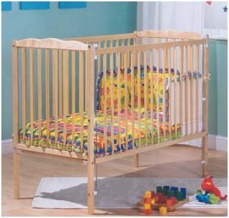 Saplings Jessica Cot Natural without Mattress