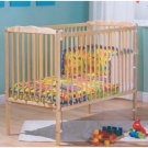 Saplings Jessica Cot Natural with Foam Mattress