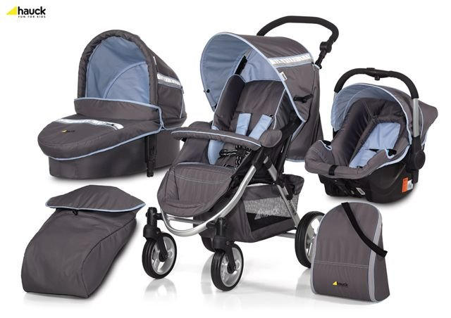 Hauck Apollo 11 All In One Travel System - Sky Blue