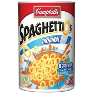 Campbell's, Spaghetti O's, Original, 14.2oz Can (Pack of 6)