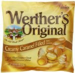 Werther's, Original Creamy Caramel Filled Hard Candies, 5.5oz Bag (Pack of 4)