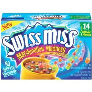 Swiss Miss, Marshmallow Madness, Hot Cocoa, 9.6oz Box (Pack of 2)