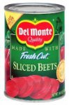 Del Monte, Sliced Beets, 14.5oz Can (Pack of 6)
