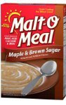 Malt-O-Meal, Instant Cereal, Maple And Brown Sugar, 28oz Box (Pack of 3)