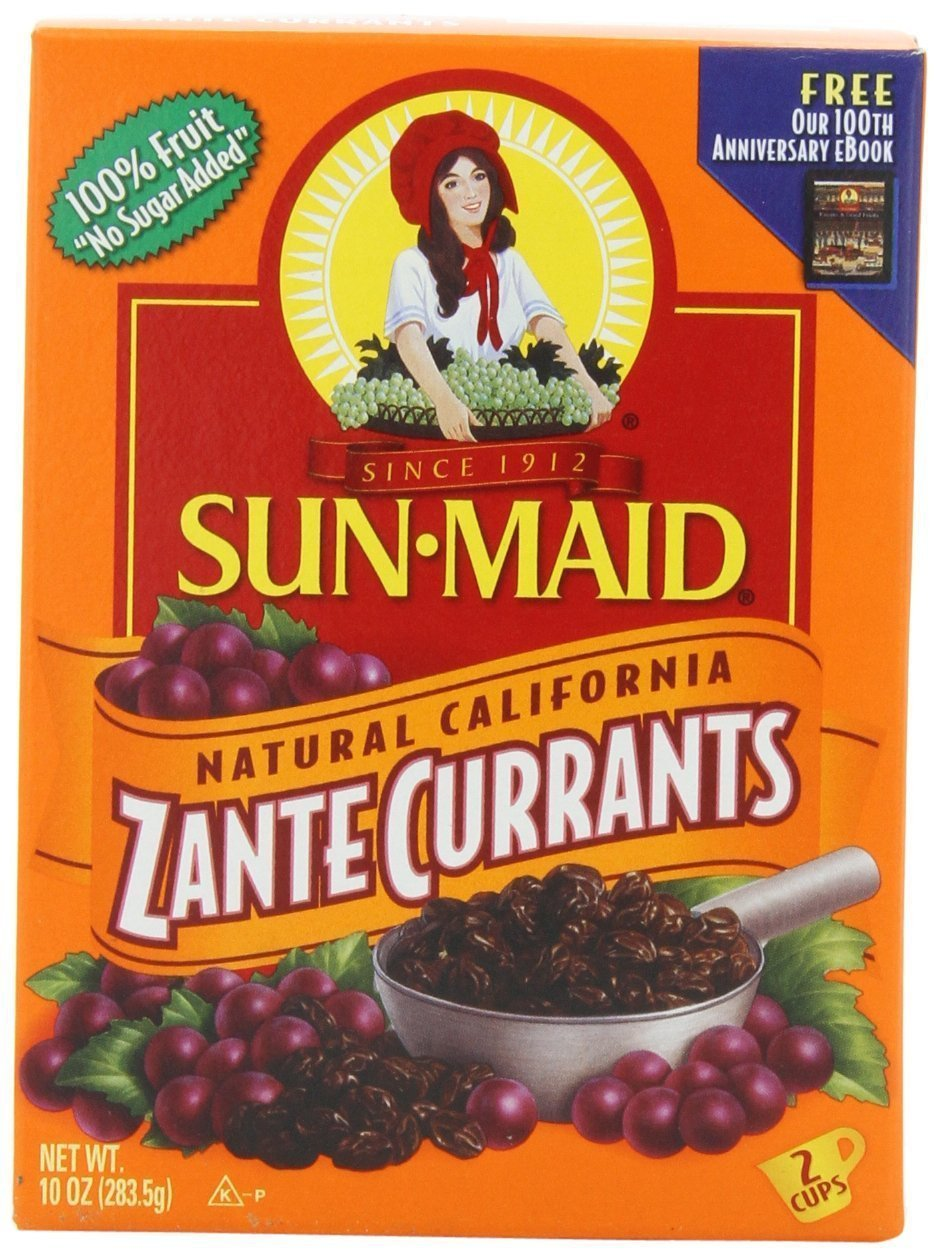 Sun Maid, California Zante Currants, 10oz Box (Pack of 3)
