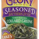 Glory Foods, Seasoned, Collard Greens in Turkey Broth, 14.5oz Can (Pack of 6)
