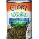 Glory Foods, Sensibly Seasoned, Lower Sodium, Mixed Greens, 14.5oz Can (Pack of 6)