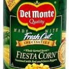 Del Monte, Fiest Corn, Seasoned with Red & Green Peppers, 15.25oz Can (Pack of 6)