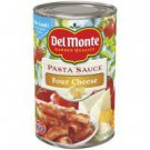 Del Monte, Pasta Sauce, Four Cheese, 26.5oz Can (Pack of 6)