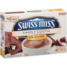 Swiss Miss, Simply Cocoa, Milk Chocolate Hot Cocoa Mix, 8 Count, 6.8oz Box