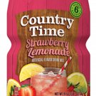 Country Time Strawberry Lemonade Drink Mix (Makes 6 Quarts) 18-Ounce Canister