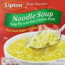 Lipton, Soup Secrets, Noodle Soup Mix, Chicken Broth, 2 Count, 4.5oz Box