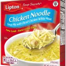 Lipton, Soup Secrets, Chicken Noodle Soup Mix with Diced Chicken White Meat, 2 Count, 4.2oz Box
