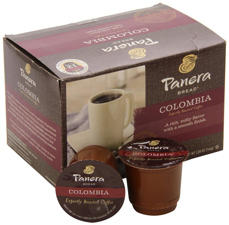 Panera Bread, K-Cup Single Serve Coffee, 12 Count, 5.08oz Box (Colombia)