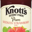 Knott's Berry Farm, Seedless Strawberry Jam, 16oz Jar