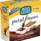 Frito Lay, Rold Gold, Pretzel Dippers, 5 Count, 7.85oz Box (Fudge Brownie)