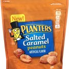 Planters, Salted Caramel Covered Peanuts, 16oz Bag