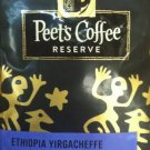 Peet's Coffee, Reserve, Whole Bean Coffee, 10oz Bag (Ethiopia Yirgacheffe - Dark Roast)