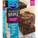 Pillsbury, Purely Simple Mixes, 15.5oz Box (Chocolate Chunk Brownie Mix)