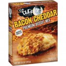 Duff Goldman, Premium Biscuit Mix, 14-Ounce Box (Pack of 3) (Bacon Cheddar)