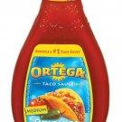 Ortega, Taco Sauces, 16oz Glass Jar (Pack of 2) (Original Medium)