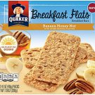 Quaker, Breakfast Flats, 5 Count (1.41oz Each), 7oz Box (Banana Honey Nut)