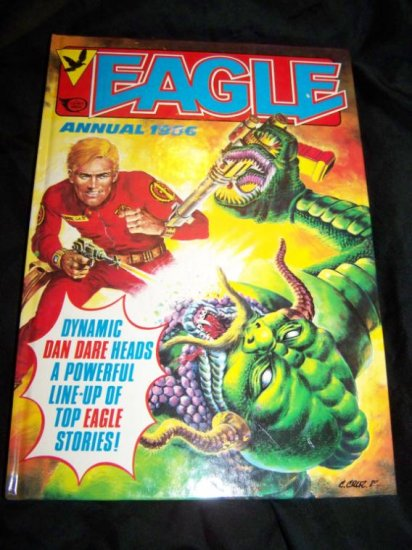 Vintage 1986 EAGLE ANNUAL Graphic Novel Fleetway Book
