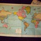 Vintage 50s BURRY'S COOKIES Rand McNally Premium MAP