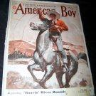 Vintage AMERICAN BOY Aug 1938 Magazine COWBOY & HORSE