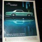 Vintage 1967 OLDSMOBILE Delta 88 Holiday Sedan Print Ad