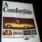 Vintage 1967 CHEVROLET IMPALA SS CONVERTIBLE Print Ad
