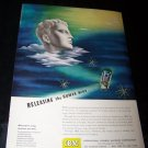 Vintage IBM Releasing Human Mind TRANSISTOR Print Ad