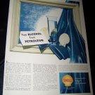 Vintage 1948 SHELL Pure Ethyl Alcohol Petrol Print Ad